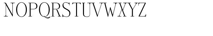 Antique Roman Solid Font UPPERCASE