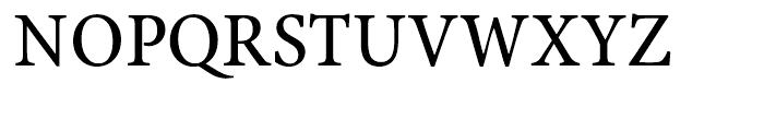 Antium Bold Semi Condensed Font UPPERCASE