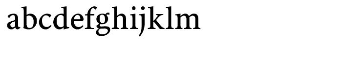 Antium Bold Semi Condensed Font LOWERCASE