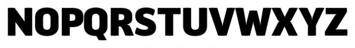 Aneba Neue Bold Font UPPERCASE
