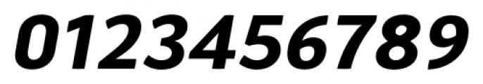 Aneba Neue Semi Bold Italic Font OTHER CHARS