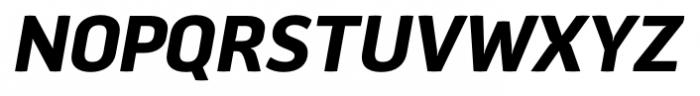 Aneba Neue Semi Bold Italic Font UPPERCASE