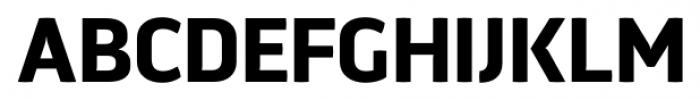 Aneba Neue Semi Bold Font UPPERCASE