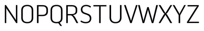 Aneba Neue Ultra Light Font UPPERCASE