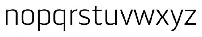 Aneba Neue Ultra Light Font LOWERCASE