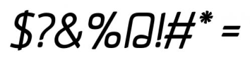 Aneba Oblique Font OTHER CHARS