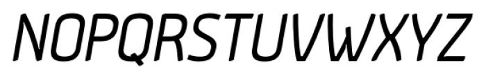 Aneba Oblique Font UPPERCASE