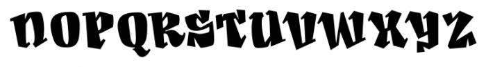 Angeleno Pro One Font UPPERCASE