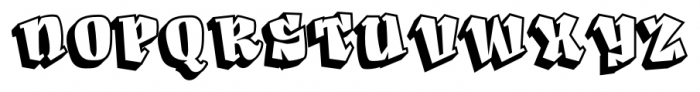 Angeleno Pro Two Font UPPERCASE