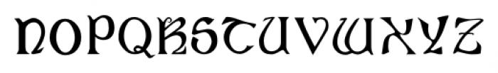 Angelica Regular Font UPPERCASE