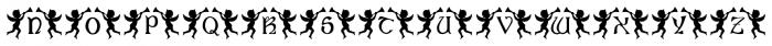 Angelica Regular Font LOWERCASE
