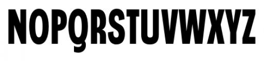 Angostura Black Font UPPERCASE