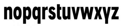 Angostura Black Font LOWERCASE