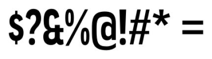 Angostura Bold Font OTHER CHARS