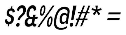 Angostura Italic Font OTHER CHARS