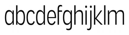 Angostura Light Font LOWERCASE