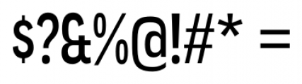 Angostura Regular Font OTHER CHARS