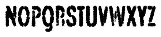 Angostura Spraypaint Font UPPERCASE