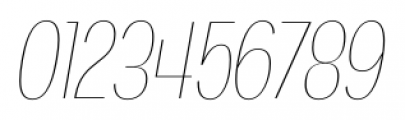 Angostura UltraLight Italic Font OTHER CHARS