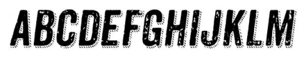 Anodyne Combined Italic Font LOWERCASE