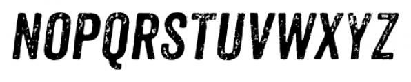 Anodyne Italic Font UPPERCASE
