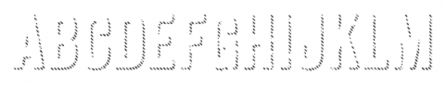 Anodyne Shadow Regular Font UPPERCASE