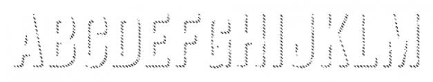 Anodyne Shadow Regular Font LOWERCASE
