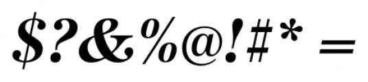 Antiqua FS Bold Italic Font OTHER CHARS