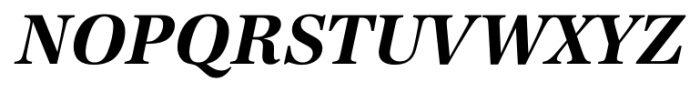 Antiqua FS Bold Italic Font UPPERCASE