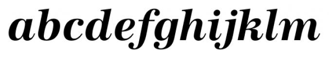 Antiqua FS Bold Italic Font LOWERCASE