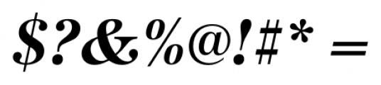 Antiqua Pro Bold Italic Font OTHER CHARS