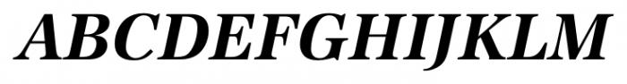 Antiqua Pro Bold Italic Font UPPERCASE
