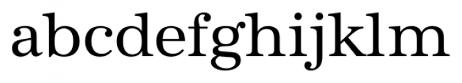 Antiqua Pro Regular Font LOWERCASE