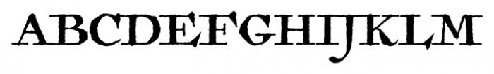 Antiquarian Regular Font UPPERCASE