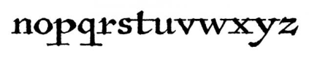 Antiquarian Regular Font LOWERCASE