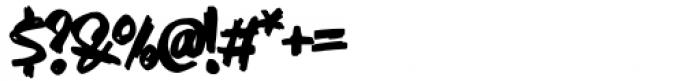 AN Swish Regular Font OTHER CHARS