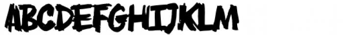 AN Swish Regular Font LOWERCASE