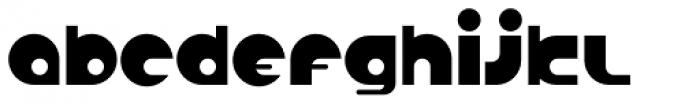 Anabolic Spheroid Pro Font LOWERCASE