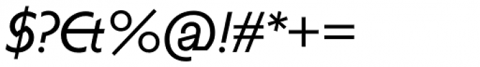 Anacharsis Italic Font OTHER CHARS