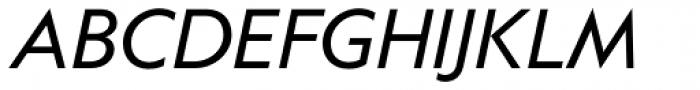 Anacharsis Italic Font UPPERCASE