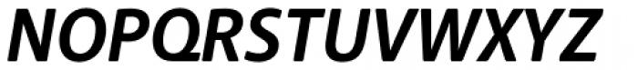 Anago Bold Italic Font UPPERCASE