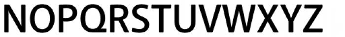 Anago Medium Font UPPERCASE