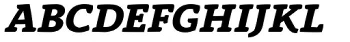 Anaphora Extra Bold Italic Font UPPERCASE