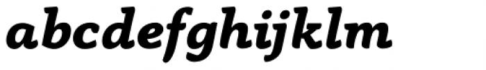 Anaphora Extra Bold Italic Font LOWERCASE