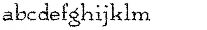 Anarckhie Ragged Font LOWERCASE