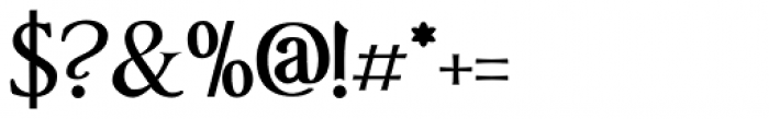Anavio Bold Font OTHER CHARS