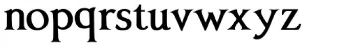 Anavio Bold Font LOWERCASE