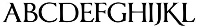 Anavio Small Capitals Bold Font UPPERCASE