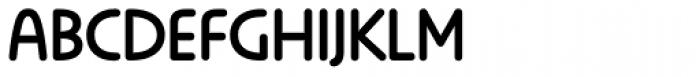 Anca Basic Font UPPERCASE