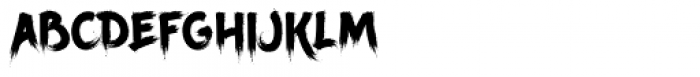 Ancherr Font LOWERCASE